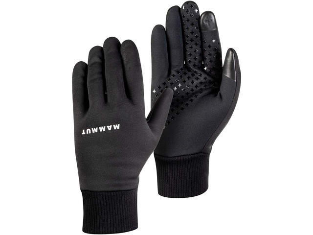 Mammut Stretch Pro Gants Coupe-Vent, black